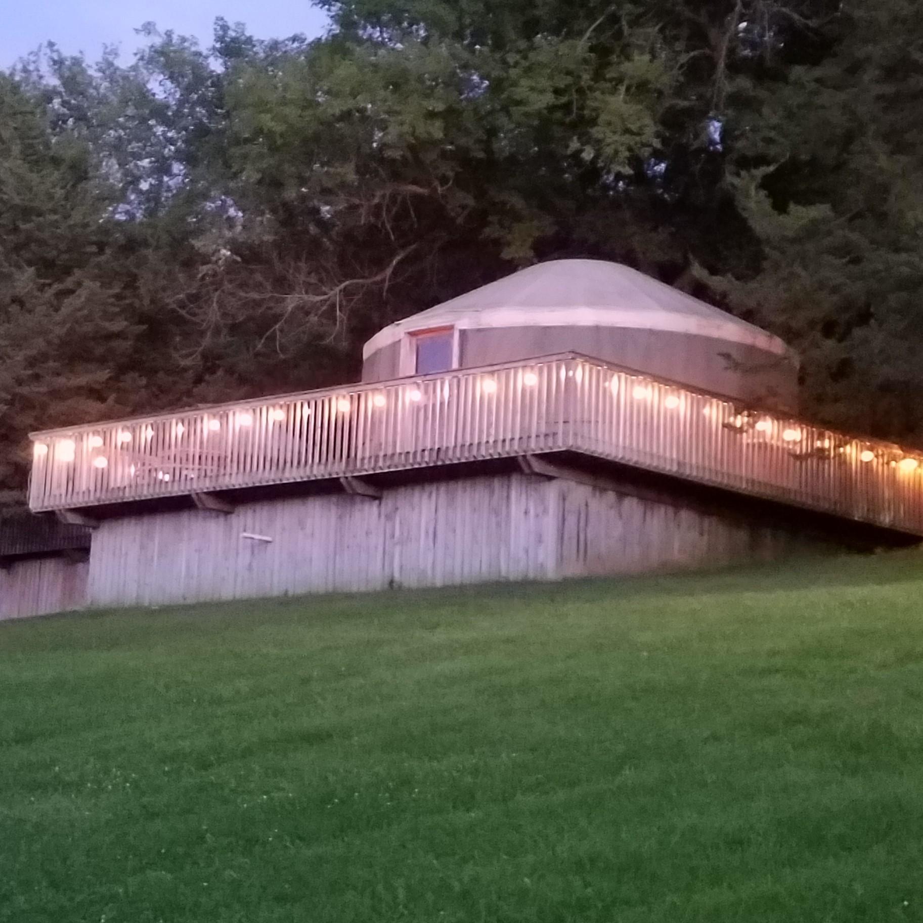 Hillside Yurt